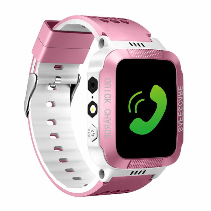 Waterproof GPS Kids Child Watch SOS For Android/iOS