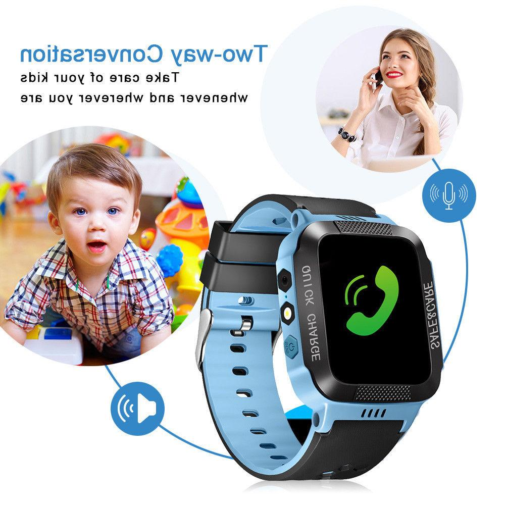 Kids Locator SOS Call Smart Watch For & IOS
