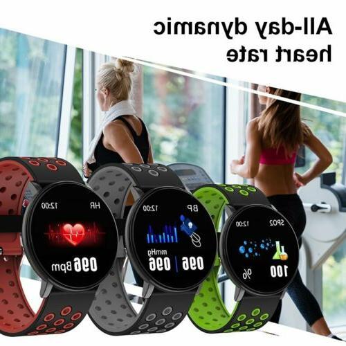 Waterproof Heart Rate Blood Monitor Wristband