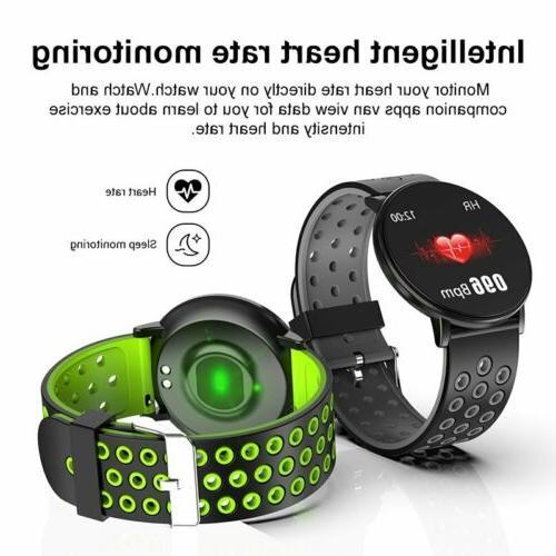 Waterproof Smart Watch GPS Heart Rate Pressure Monitor Wristband