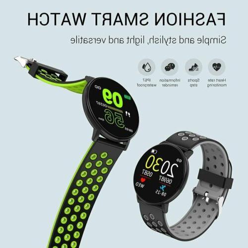Waterproof Watch Heart Pressure Monitor Sports
