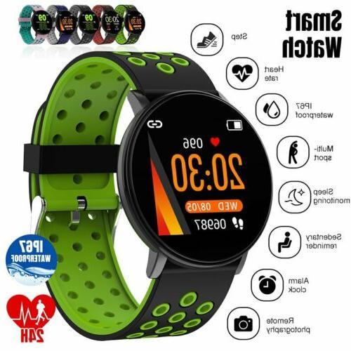 waterproof smart watch gps heart rate blood