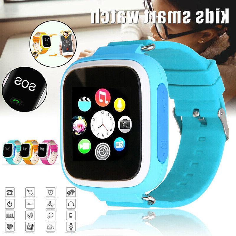 waterproof smart watch gps phone call kids