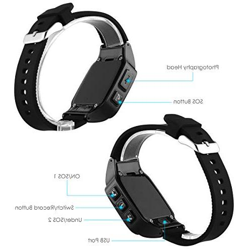 WiFi Smart Watch GPS Tracker Positioning Anti-Lost Perdometer