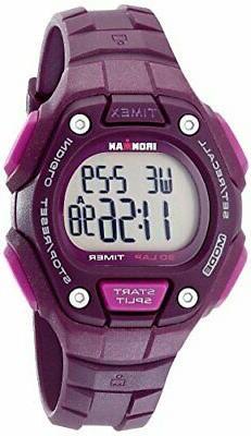 Timex Women's Ironman 30-Lap Digital Quartz Mid-Size Watch,