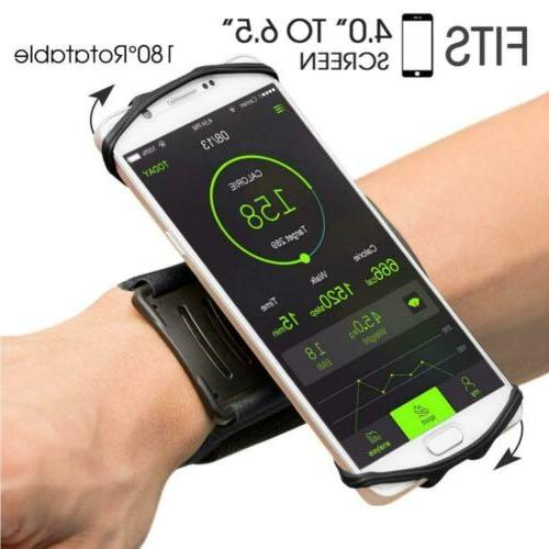 wristband phone holder