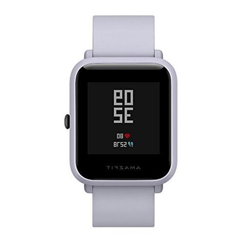 AutumnFall Bip Smart Watch Bluetooth Heart Rate Pedometer Activity Tracker GPS IP68 2018