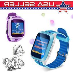 LATEST Kids Anti-lost Smart Watch WiFi GPS Tracker SOS Call