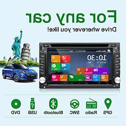 Latest Win 8 Ui Design 6.2 inch In-dash Double-din LCD Touch