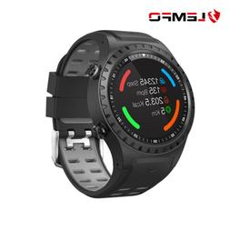 LEMFO M1 Smart Watch Phone SIM Heart Rate GPS For Android iO
