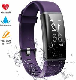 Lintelek Fitness Tracker Heart Rate Monitor Activity Tracker