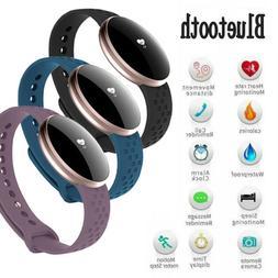 Luxury Women's Bluetooth Smart Watch Fitness Tracker for iPh