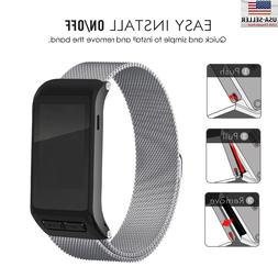 Magnetic Milanese Loop Stainless Band For Garmin vivoactive