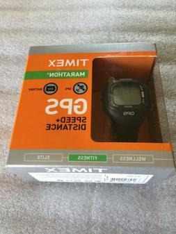 Timex Marathon T 5K638 F5 New In Box. GPS Speed + Distance F
