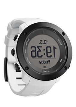 Suunto Men's Ambit3 SS021967000 White Rubber Quartz Watch