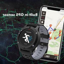 XGODY Men's Sports Smart Watch F5 GPS Fitness Tracker Heart