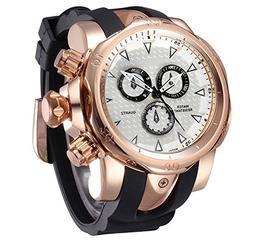 TOPCHANCES Men's Wrist Watches Sports Quartz Watch Round Dia