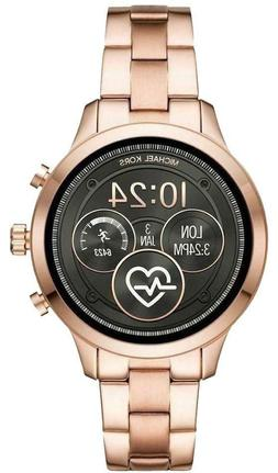 MICHAEL KORS MKT5046 ACCESS RUNWAY ROSE GOLD TONE TOUCH SMAR