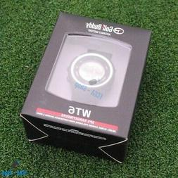 NEW 2017 Golf Buddy WT6 Golf GPS Watch Black Range Finder Pr