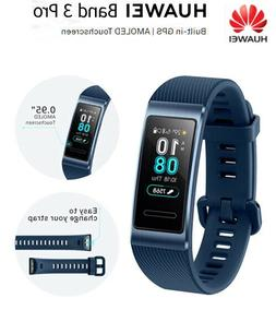 NEW Huawei Band 3 Pro Wristband AMOLED COLOR Touchscreen Hea