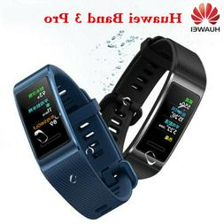 NEW Huawei Band 3 Pro Wristband GPS NFC AMOLED COLOR Touchsc