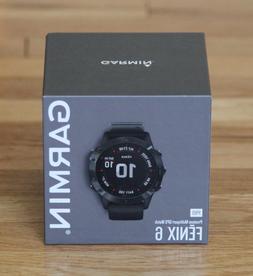 NEW Garmin FENIX 6 Pro Premium MultiSport GPS Watch 47mm Bla