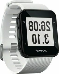 New Garmin Forerunner 35 White GPS Sport Smart Watch HR 010-