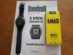 New Bushnell iON 2 Golf GPS Watch Black