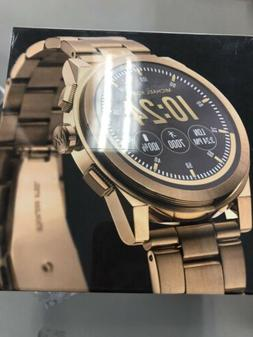 New Michael Kors Men's Access Grayson Gold Touchscreen Sma