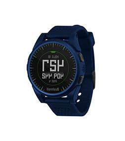 NEW   NAVY BLUE BUSHNELL EXCEL GPS RANGEFINDER GOLF WATCH BL