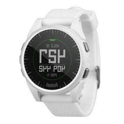 NEW Open Box Bushnell Excel GPS Golf Watch Range Finder Whit