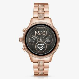 New Sealed Michael Kors Access Slim Runway Rose Gold Smart W