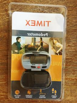 NEW SEALED TIMEX PEDOMETER 5E011 Steps-Calorie-Distance