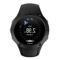 new spartan trainer black silicone unisex watch