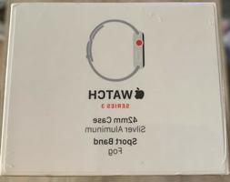 NEW Apple Watch  Series 3 42mm Aluminum Case Sport Loop/Band