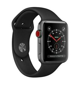 NEW APPLE WATCH SERIES 3 GPS CELLULAR 42mm SPACE GRAY BLACK