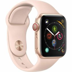 NEW APPLE WATCH SERIES 4 - 40MM GOLD PINK SAND SPORT BAND GP