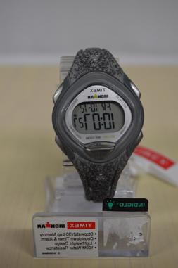 NEW Timex Women's TW5M08600 Ironman Sleek 30 Gray Speckled R
