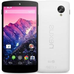 "Brand New LG Nexus 5 D821 White 16GB  4.95"" , 2.3GHz Quad Co"