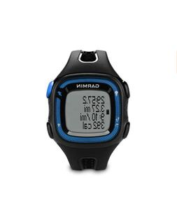 NIB GARMIN FORERUNNER 15 Large Black/Blue Running Watch