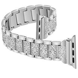 Nigaee Apple Watch Band 38mm Women & Men Apple Watch Band 42
