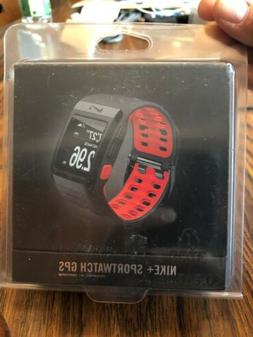 Nike + Sportwatch GPS Powered By Tom Tom Black Red Anthr/Red