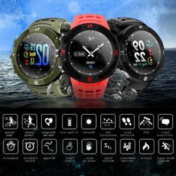 NO.1 F18 Smart Watch IP68 Waterproof Heart Rate Monitor Spor