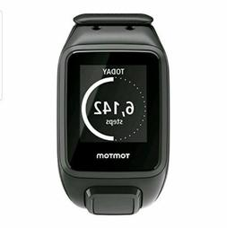 O-NEW  TomTom Spark Cardio + Music GPS Fitness Watch Black S