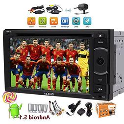 Eincar 6.2 inch Octa Core 2 RAM HD 1080P Android 5.1 Car DVD