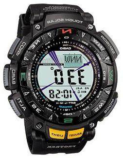 Casio Men's Pathfinder PAG240-1CR Solar Powered Triple Senso