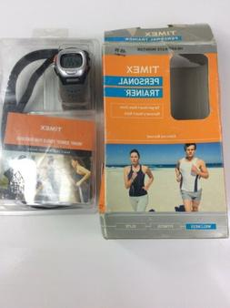Timex Personal Trainer Heart Rate Monitor Watch WR 30M & Che