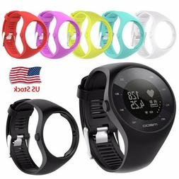 For Polar M200 GPS Running Watch Silicone Replacement Wrist