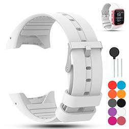 For Polar M400/M430 Unisex Adult GPS Running Watch Strap - F