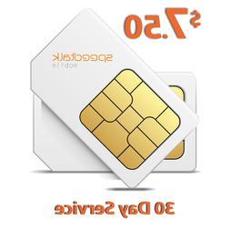 $7.5 Prepaid SIM Card for GSM GPS Tracker Pet Senior Kid Chi